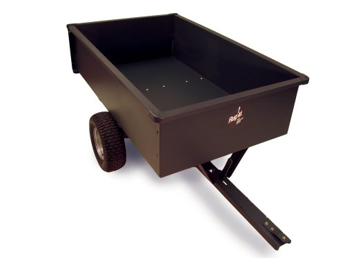 Precision Products LC1700GY 17-Cubic Foot Trailer Dump Cart