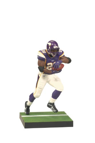 McFarlane Toys NFL Series 24 Adrian Peterson 3 Action Figure (Palestine Football Jersey compare prices)
