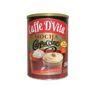 Caffe D'Vita Mocha Cappuccino Hot or Iced 4 lbs (2 pack)