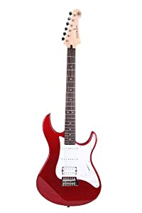 yamaha pac012 red metallic 6 string electric guitar musical instruments. Black Bedroom Furniture Sets. Home Design Ideas