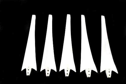 5 Blades For Aleko® Wg450A Wind Turbine Wind Generator Mill