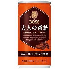 サントリー BOSS ボス 大人の微糖