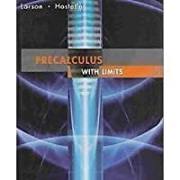 Precalculus with Limits, CUSTOM EDITION