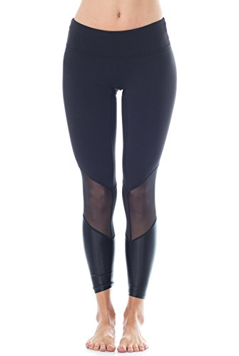 ChillByWill Love 2.0 High Rise Legging-CBW Blk/Blk Metal-Small (S) Black/Black Metal
