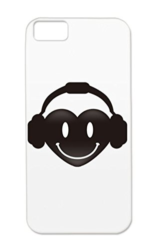 Miscellaneous Beat Heart Music Sound Headphones Pop Music Design Icon Heart Tpu Case Cover For Iphone 5C Red