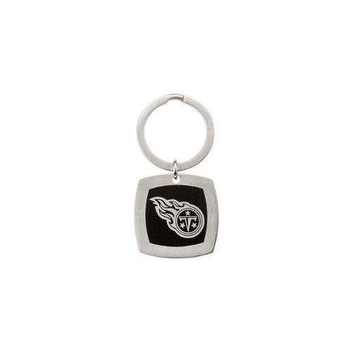 24614 St Steel 35mm Tennessee Titans Logo Keychain Football NFL Men Team Jewelry