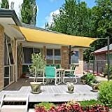 San Diego Shade Sail 10' Square - Sandy Beach