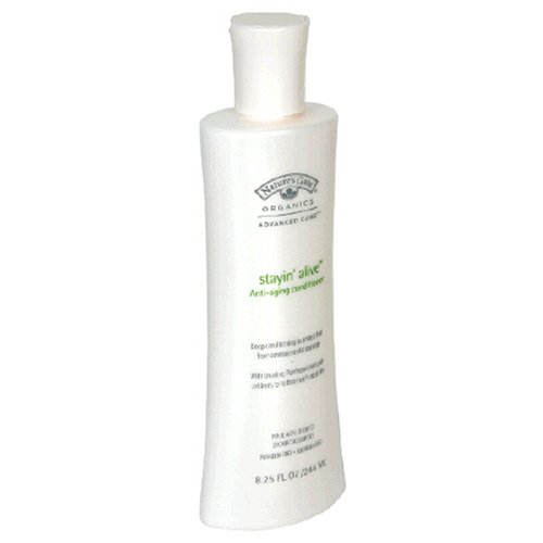 Buy Nature's Gate Organics Conditioner, Anti-Aging, Stayin' Alive, 8.25 fl oz (244 ml) (Pack of 2) (Nature's Gate Hair Conditioners, Conditioners, Organic)