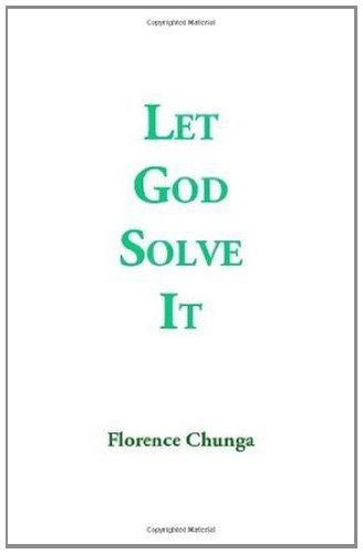 Let God Solve It