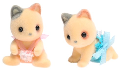 Calico Critters: Whiskers Cat Twins