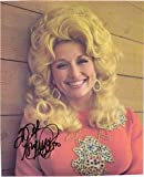 Signed Parton, Dolly 8x10 Magazine Page (Personalized - To Neil - Smudged) autographed