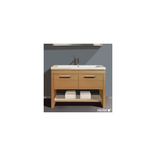 Vanity unit wall mounted Happy D., f. 041710, 1 drawer, 65 Bleached