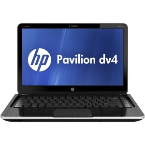 HP Pavilion dv4-5110us 14 LED Show Notebook Intel Core i5-2450M 2.50GHz 6GB DDR3 750GB HDD SuperMulti DVD burner Intel HD graphics 3000. Bluetooth Windows 7 To the heart Premium 64-bit