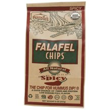 Flamous Brands Falafel Chips Spicy 128 Oz from Flamous Brands