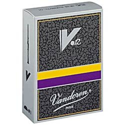 Vandoren V-12 Advanced Bb Clarinet Reeds, #4,