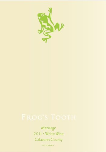 2011 Frog'S Tooth Calaveras County Meritage White Blend 750 Ml