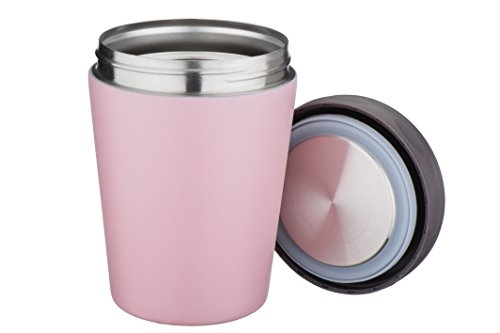 Mira Lunch, Food Jar, Vacuum Insulated, Stainless Steel, 15Oz, Pink front-116870