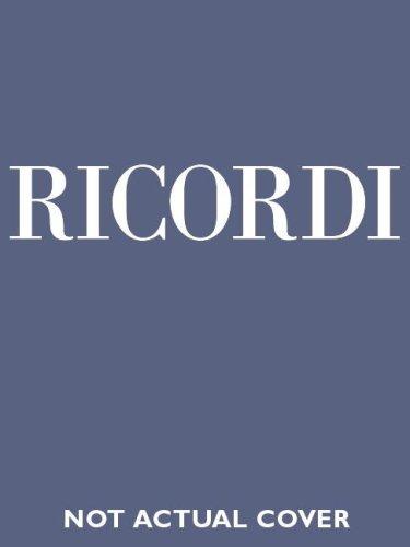 Il Barbiere di Siviglia: Vocal Score
