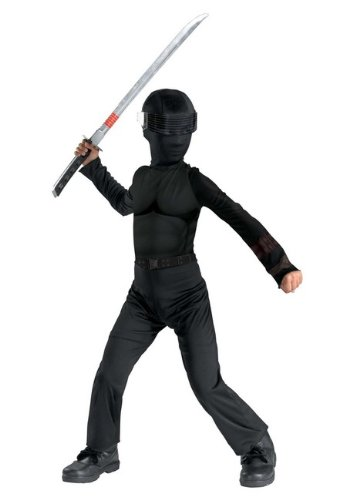 Boys G.i. Joe Snake Eyes Costume