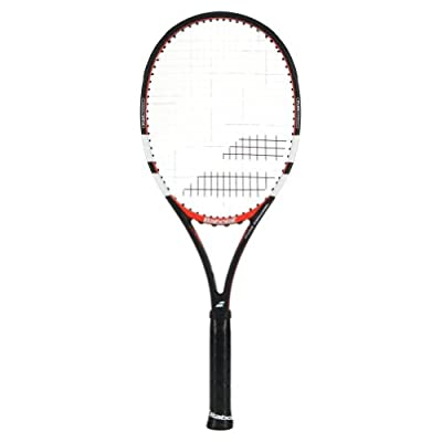 Babolat 101200-144 Pure Control GT Unstrung Tennis Racquet, 4 3/8 (Black/Red)