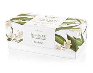 Tea Forte Skin Smart Ribbon Box - Contains Twenty Silken Pyramid Infusers by Tea Forte