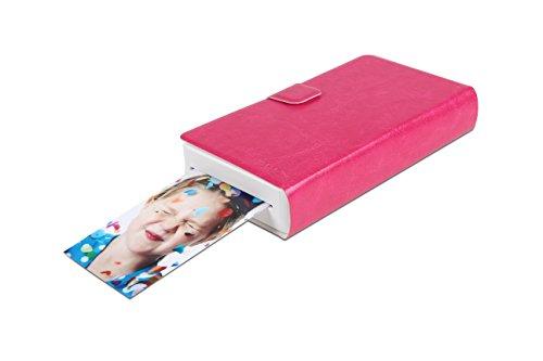 Prinics-PicKit-M1-Stampante-Fotografica-a-Sublimazione-per-Smartphone-e-Tablet-per-Stampe-54x86-mm-291-dpi-Collegamento-Wi-Fi-ed-NFC-Bianco