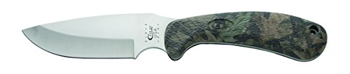 Case Knives 18337 Ridgeback Drop Point Hunter Fixed Blade Knife with Camouflage Zytel Handles