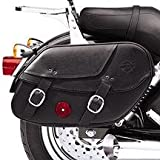 H-D Leather Saddlebags for Dyna Models 90369-06c