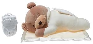 Prince Lionheart Original Slumber Bear with Silkie Blanket , Cream