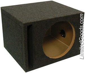 Atrend E10Sv B Box Series 10-Inch Single Vented Subwoofer Enclosure