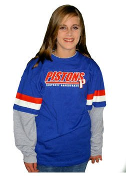 Detroit Pistons Long Sleeve Layered Youth Tee - Buy Detroit Pistons Long Sleeve Layered Youth Tee - Purchase Detroit Pistons Long Sleeve Layered Youth Tee (adidas, adidas Boys Shirts, Apparel, Departments, Kids & Baby, Boys, Shirts, Pullovers & Henleys)