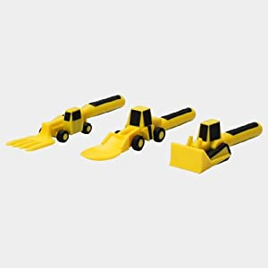 Constructive Eating 3 Piece Construction Worksite Utensil Set