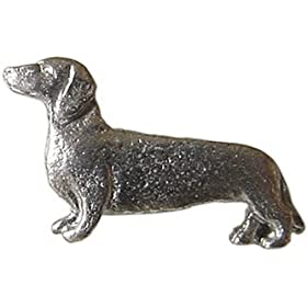 Pewter Mini Dachshund Pin
