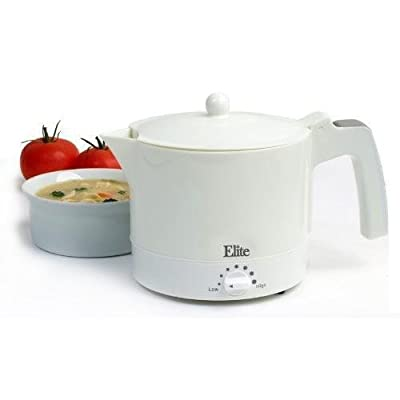 MaxiMatic EHP-001 Elite Cuisine 32-Ounce Electric Hot Pot with Egg Cooker and
