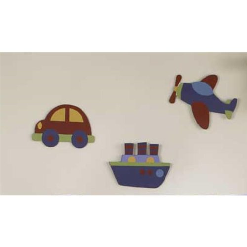 Bedtime Originals Travel Time Wall Hanging - Blue