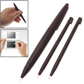 Nintendo DSi XL Large Stylus & Regular XL Stylus - Burgundy Red