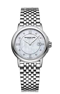 Raymond Weil Tradition Mother of Pearl Dial Stainless Steel Ladies Watch 5966-ST-00995