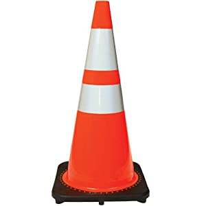 Amazon.com: JBC High-Visibility Orange Traffic Cones with ...