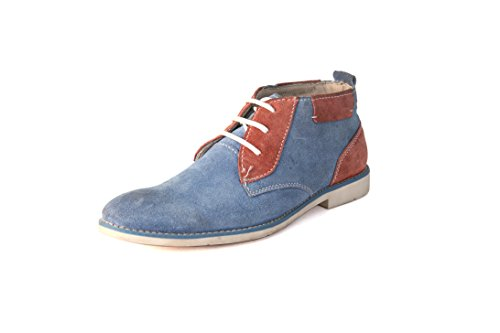 BellBut SuedeBlue Men Casual Shoes (7701)