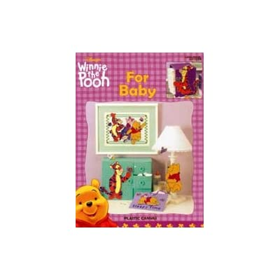 Winnie the Pooh - For Baby - Plastic Canvas (Leisure Arts #1879