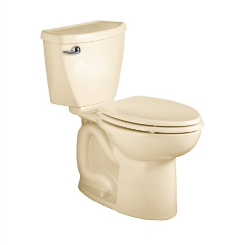 American Standard 270Ca001.021 Cadet 3 Elongated Two-Piece Toilet With 12-Inch Rough-In, Bone front-759478