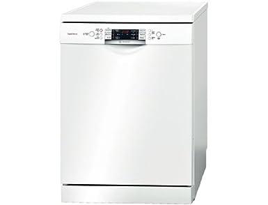 Bosch SMS69N02FF lave-vaisselle - laves-vaisselles (Autonome, A, A++, Blanc, boutons, Auto 45-65 ºC, Delicate, Économie, Intensif, Pré-lavage, Rapide)