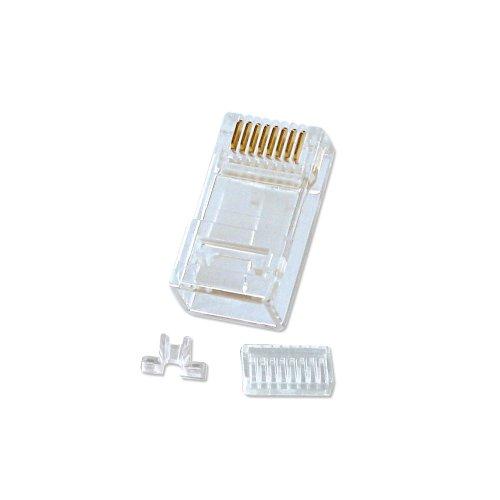 LINDY RJ-45-Stecker (8-polig, UTP, Cat-5e) 10Stück