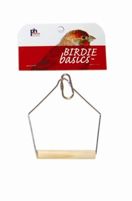 "Birdie Basics 3x4"" Birch And Wire Swing"