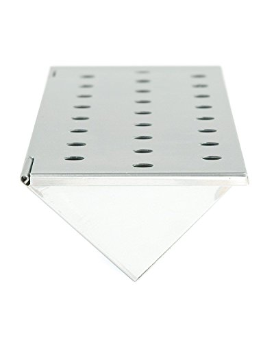 Stainless Steel V-shape Smoker Box For Gas Grills By Charcoal Companion; Short (V Shape Smoker Box compare prices)