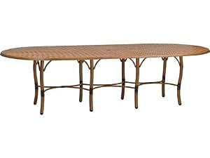 Isle Aluminum 108 X 48 Rectangular Dining Table Patio Lawn Garden