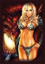 Artists of Magic Premium Deck Protectors: Deadly Desires w/Artwork by Monte Moore (Pack of 80 Sleeves)