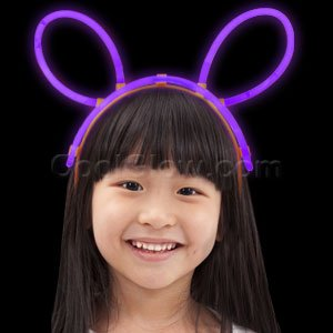 Glow Headband - Purple by CoolGlow