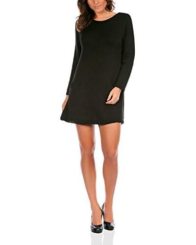 La Belle Parisienne Vestido Punto Telma Negro S