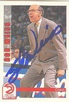 Bob Weiss Atlanta Hawks 1992 Hoops Autographed Hand Signed Trading Card - Nice... by Hall+of+Fame+Memorabilia